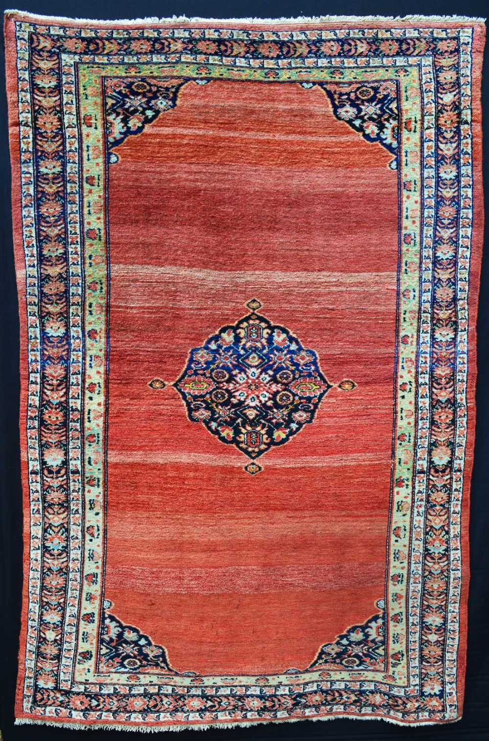 antique sultanabad rug northwest persia