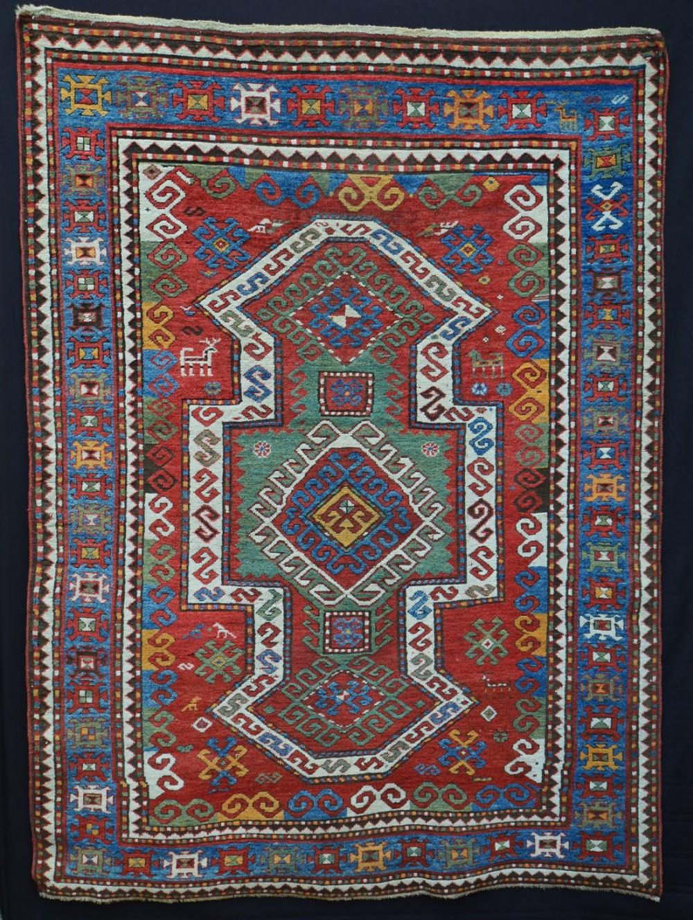 antique kazak sevan region southwestern caucasus