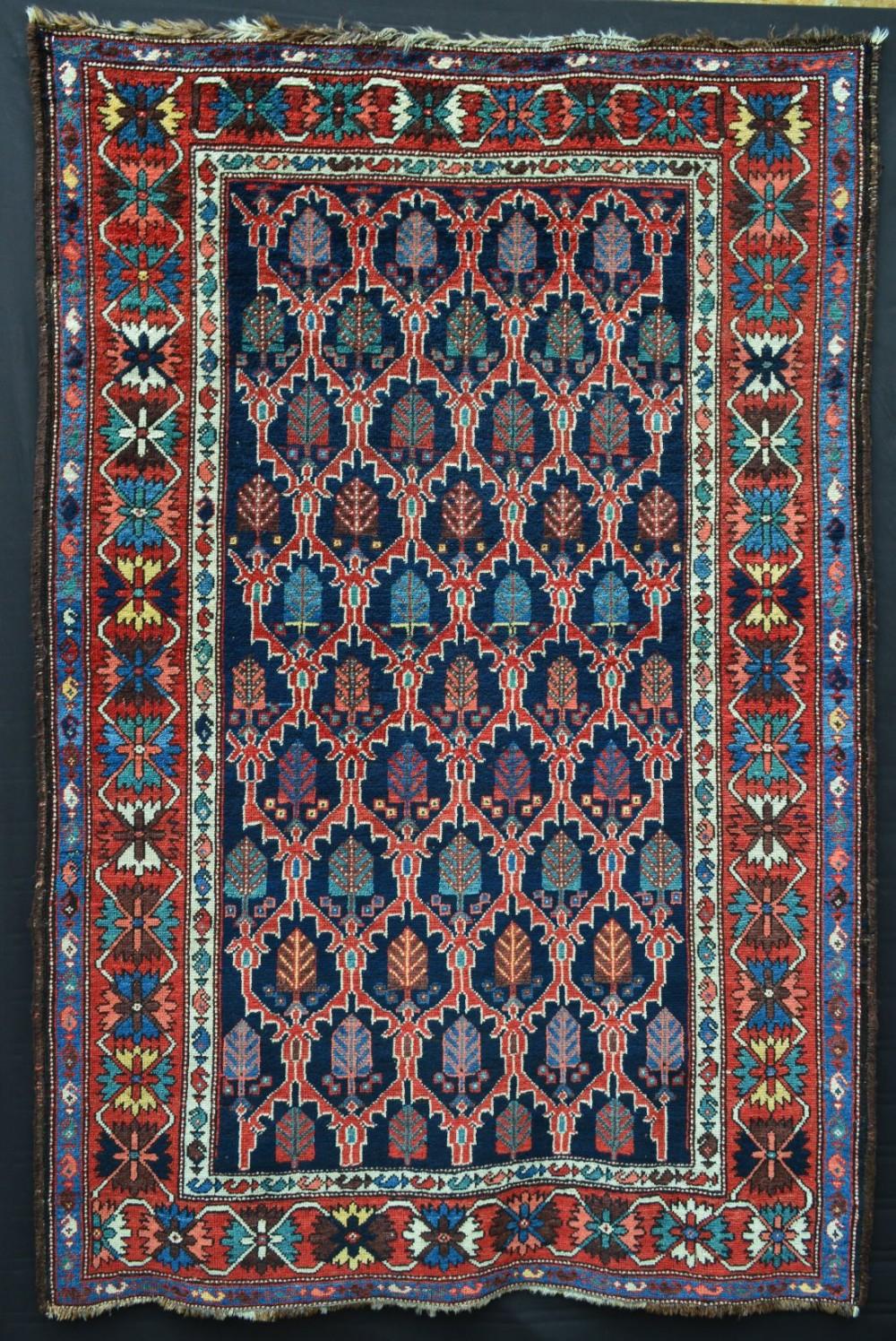 antique bakhtiari rug sheikh chupan area chahar mahal province west persia
