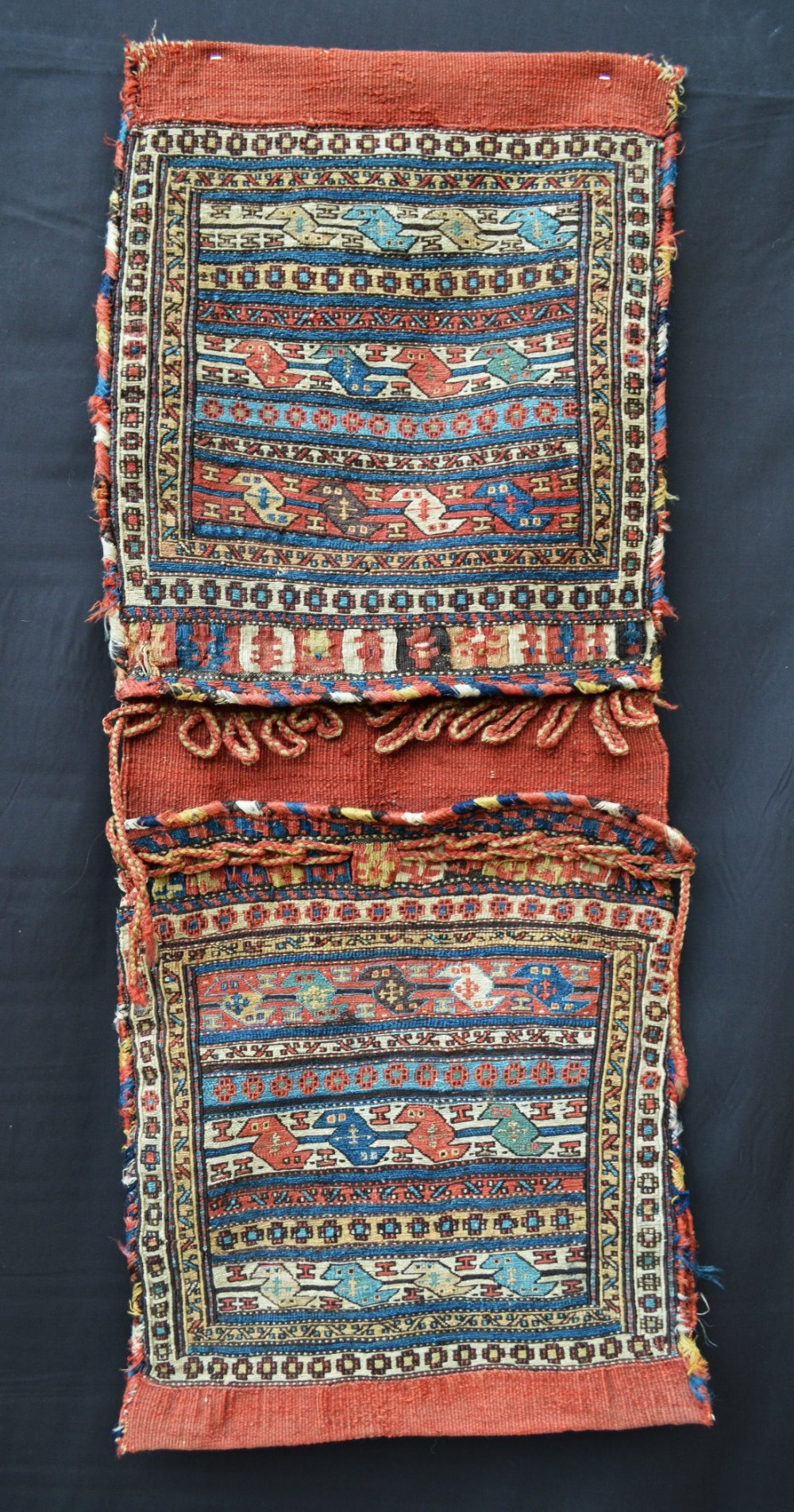 antique saddlebags khorjin shahsevan tribes moghan azerbaijan