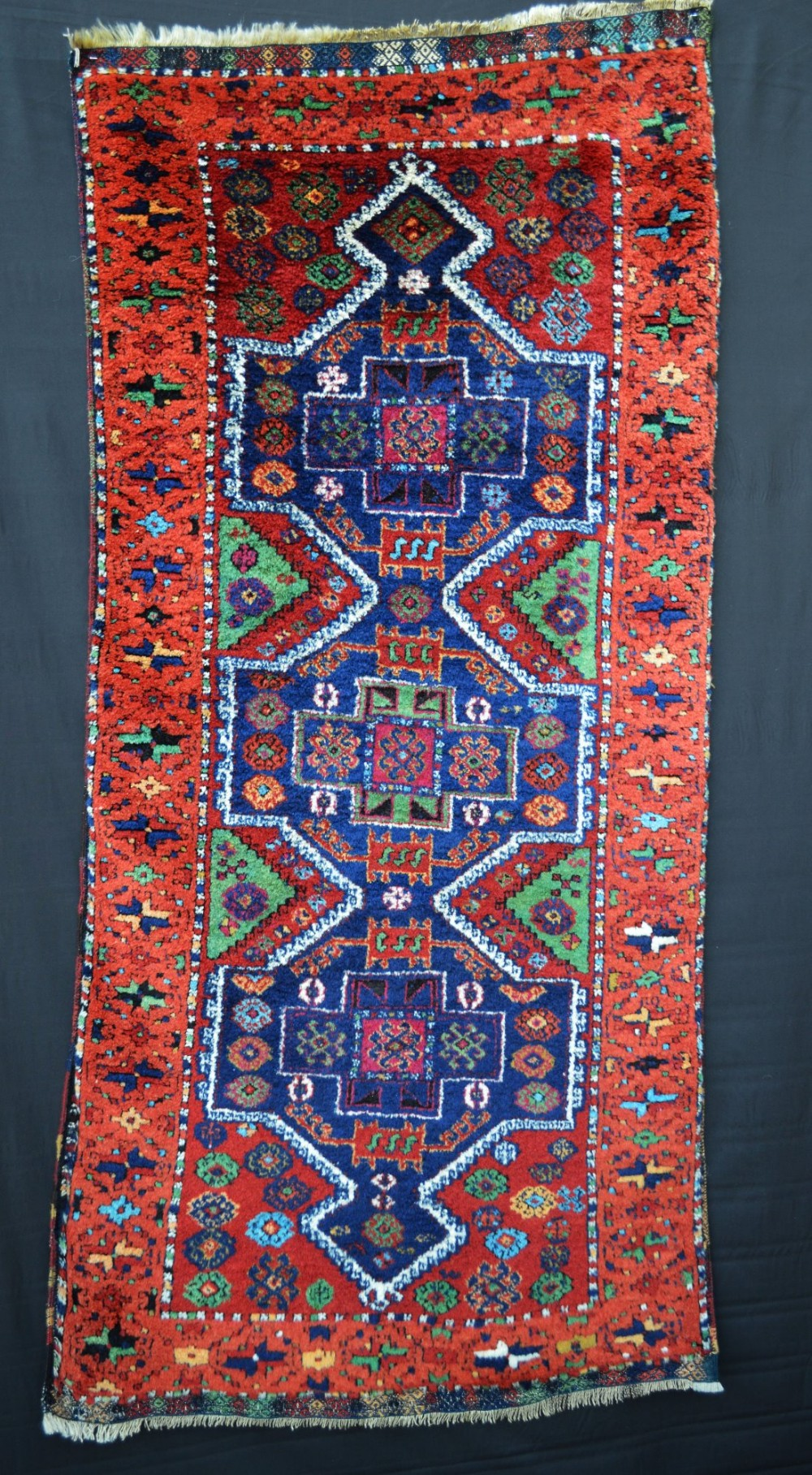 antique kurdish yuruk rug eastern turkey
