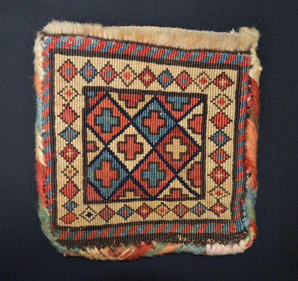 antique vanitybag shahsevan nomads moghan azerbaijan