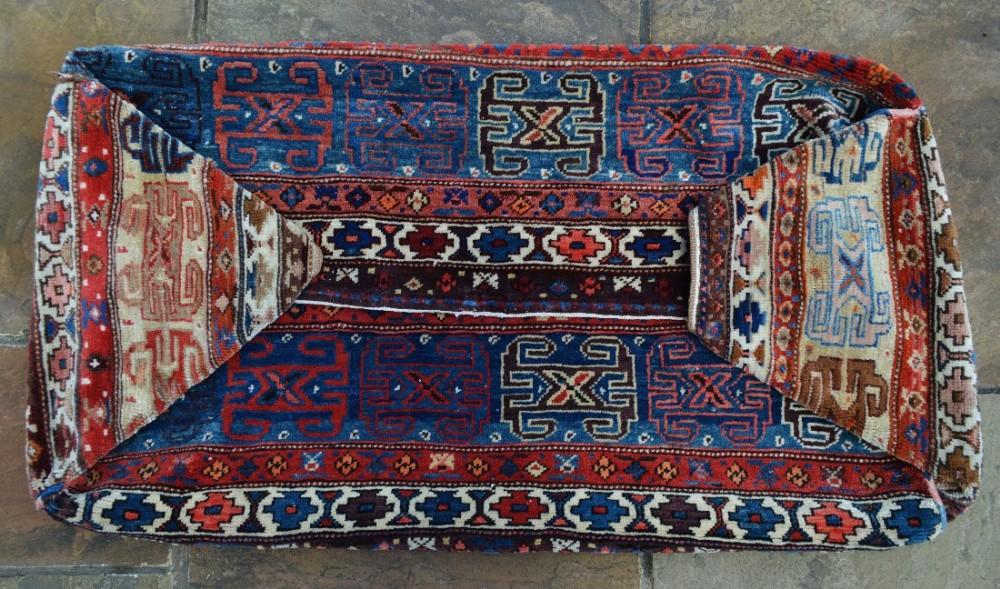 antique mafrash bedding bag shahsevan nomads azerbaijan