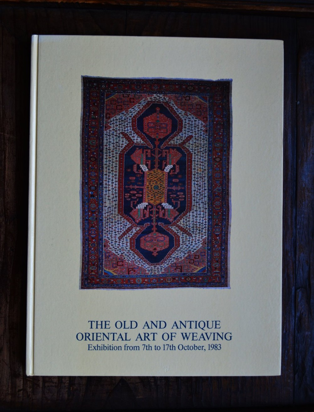 'the old and antique oriental art of weaving' by peter bausback
