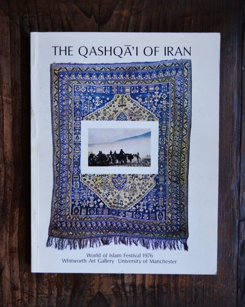 'the qashqa'i of iran' whitworth art gallery