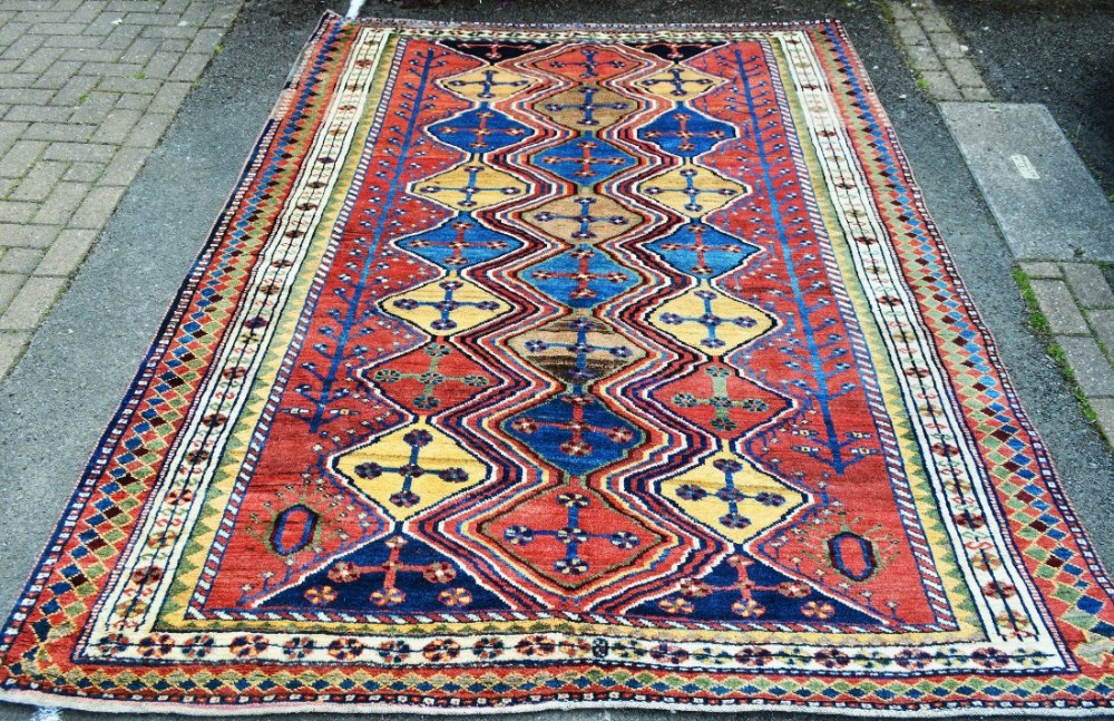 antique luri gabbeh luristan west persia