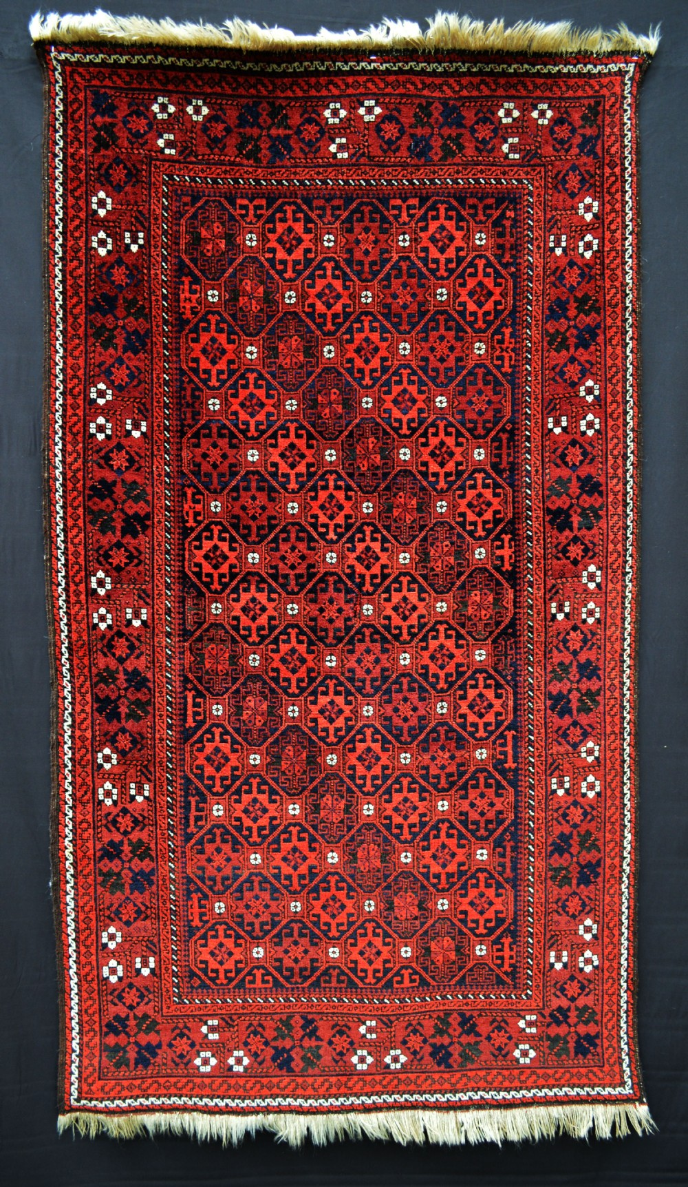 antique baluch ali mirza'i tribal rug khorassan province northeast persia