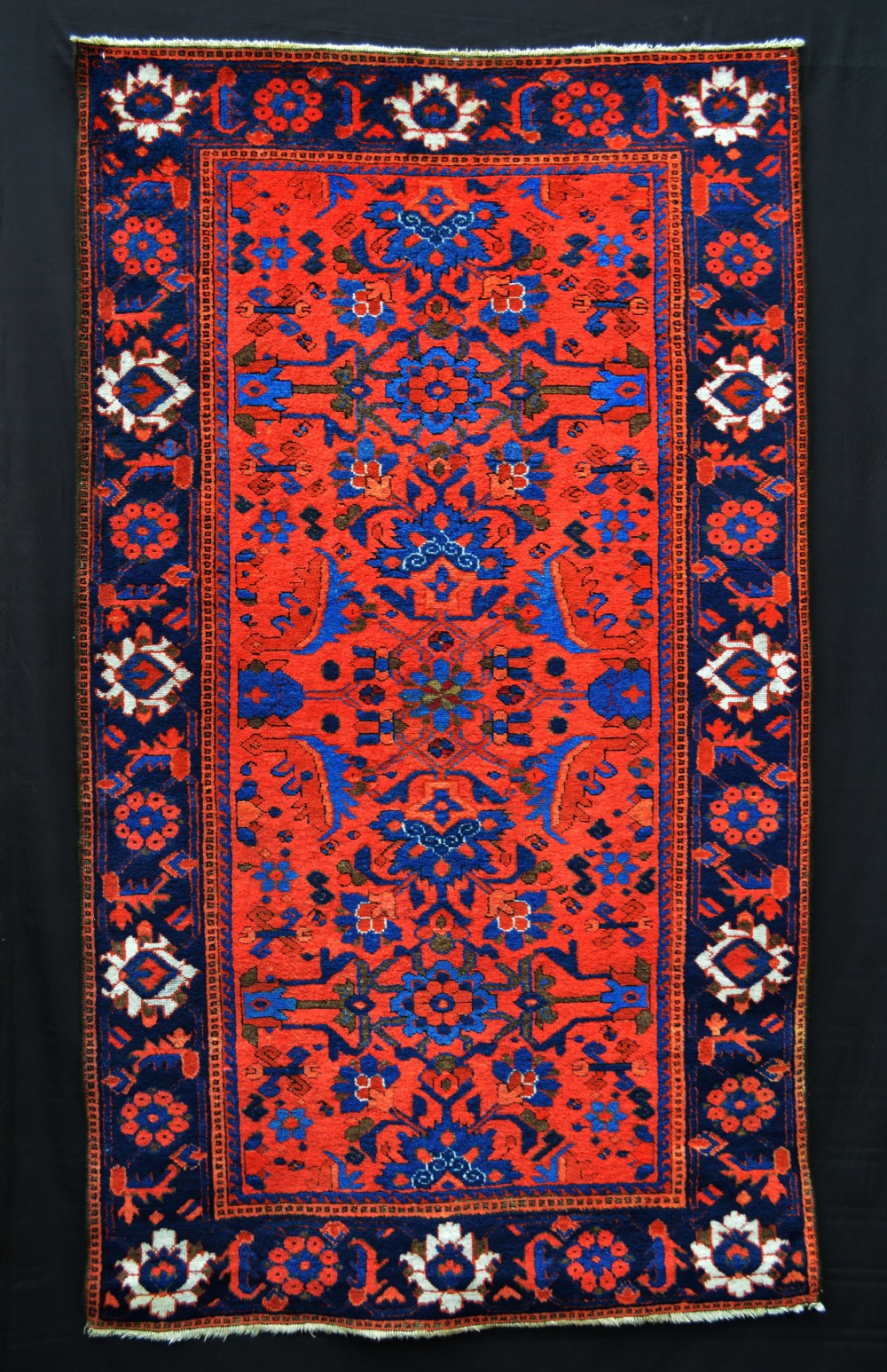 antique baluch tribal rug ferdows region southeast persia