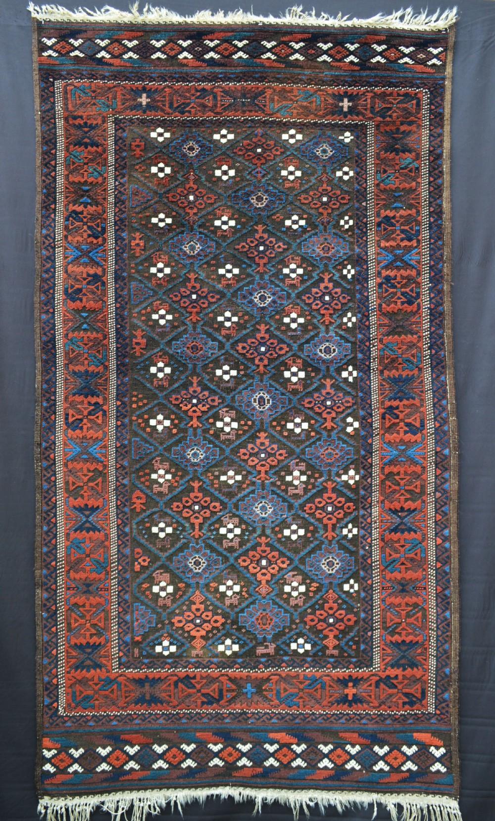 baluch tribal rug khorassan region northwest persia