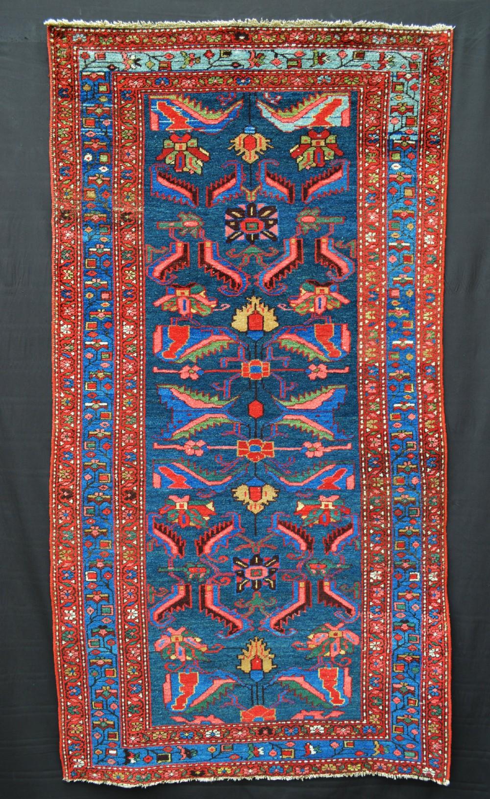 antique hamadan rug hamadan region northwest persia