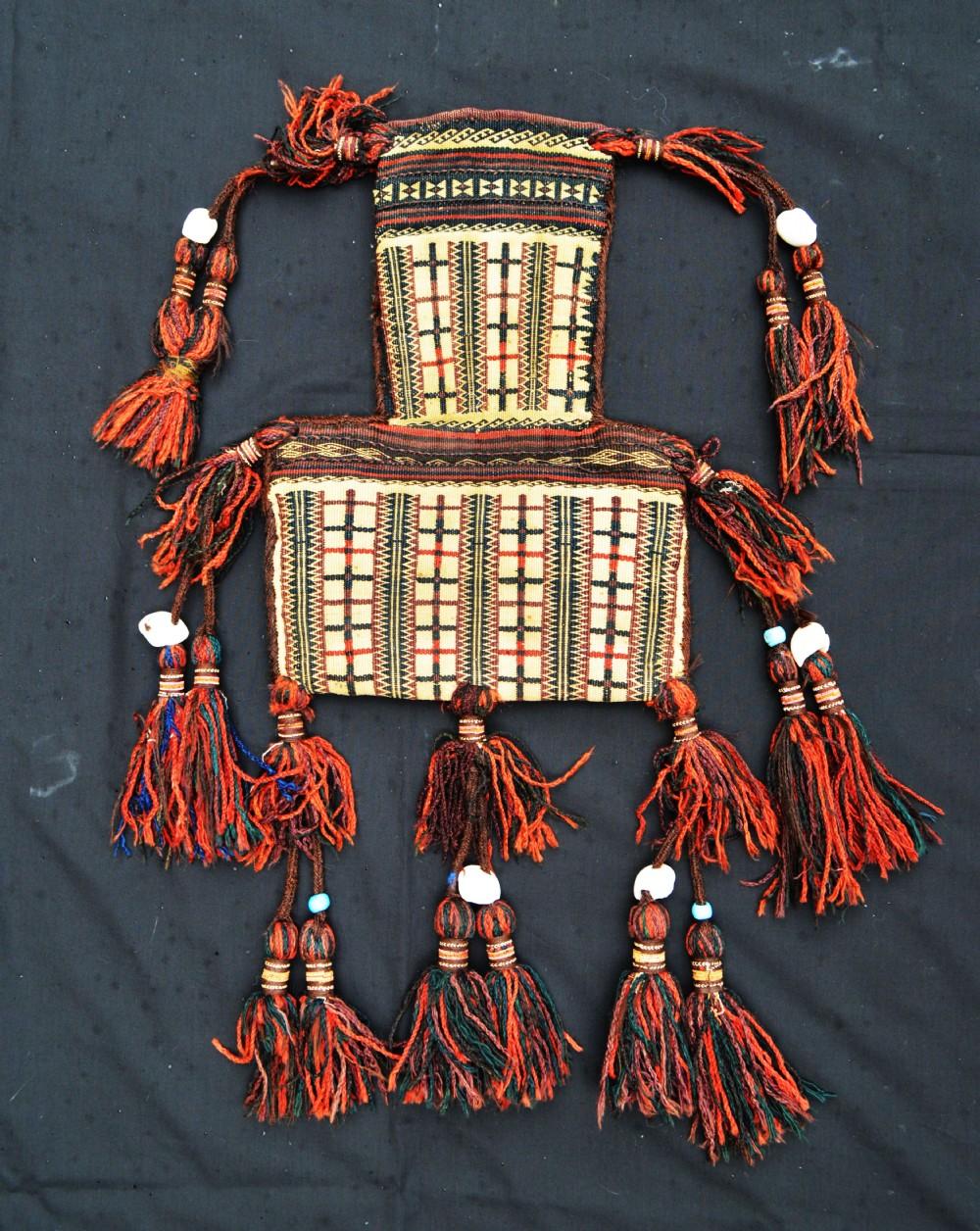 antique saltbag baluch sanjrani nomads chagai baluchistan