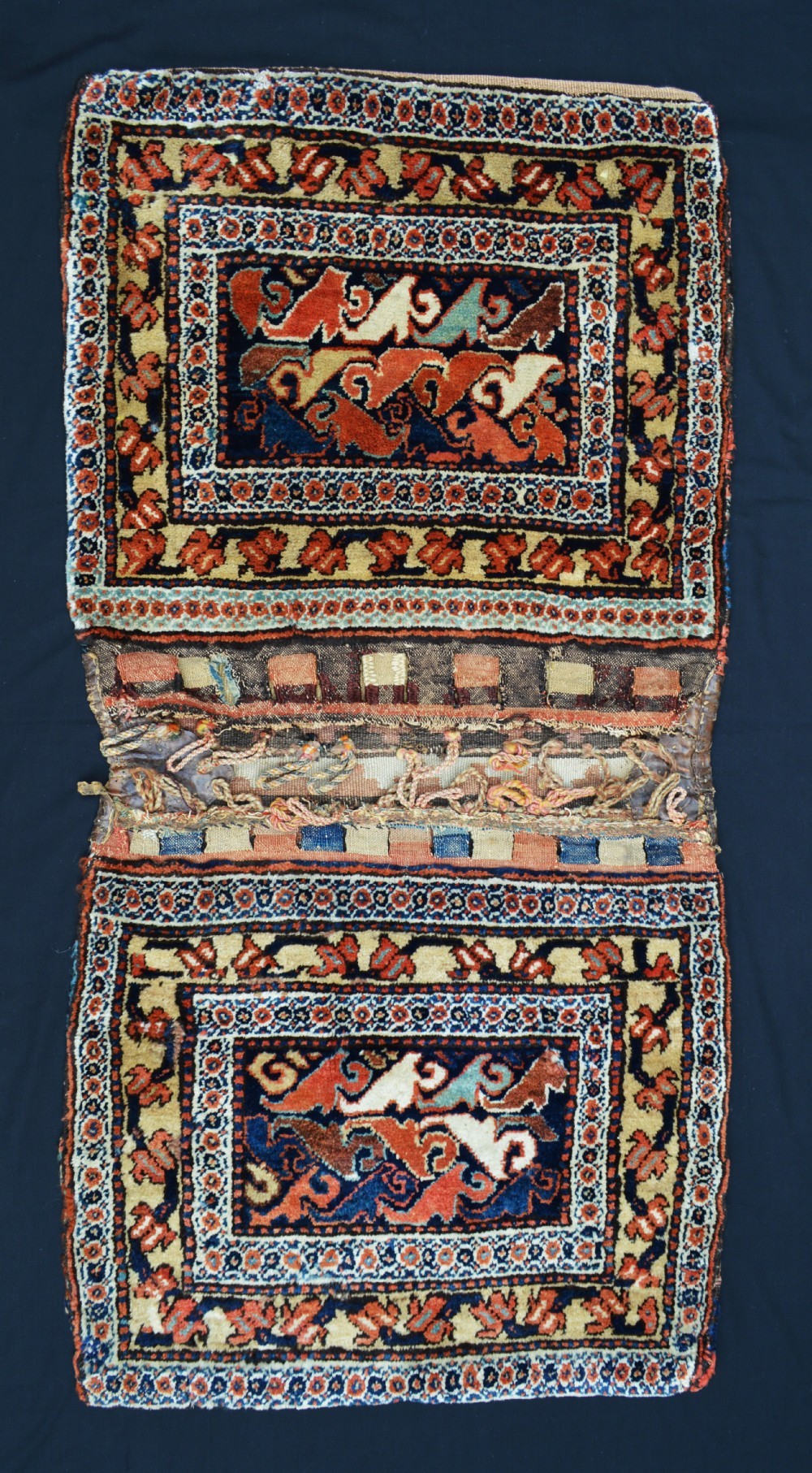 antique saddlebags afshar nomads southern persia