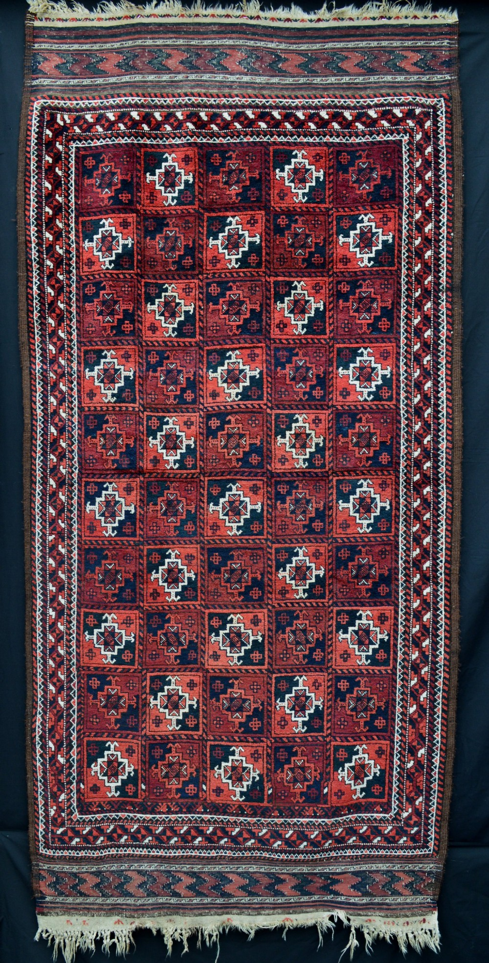 antique baluch rug mahdad khani tribe khorassan northeast persia