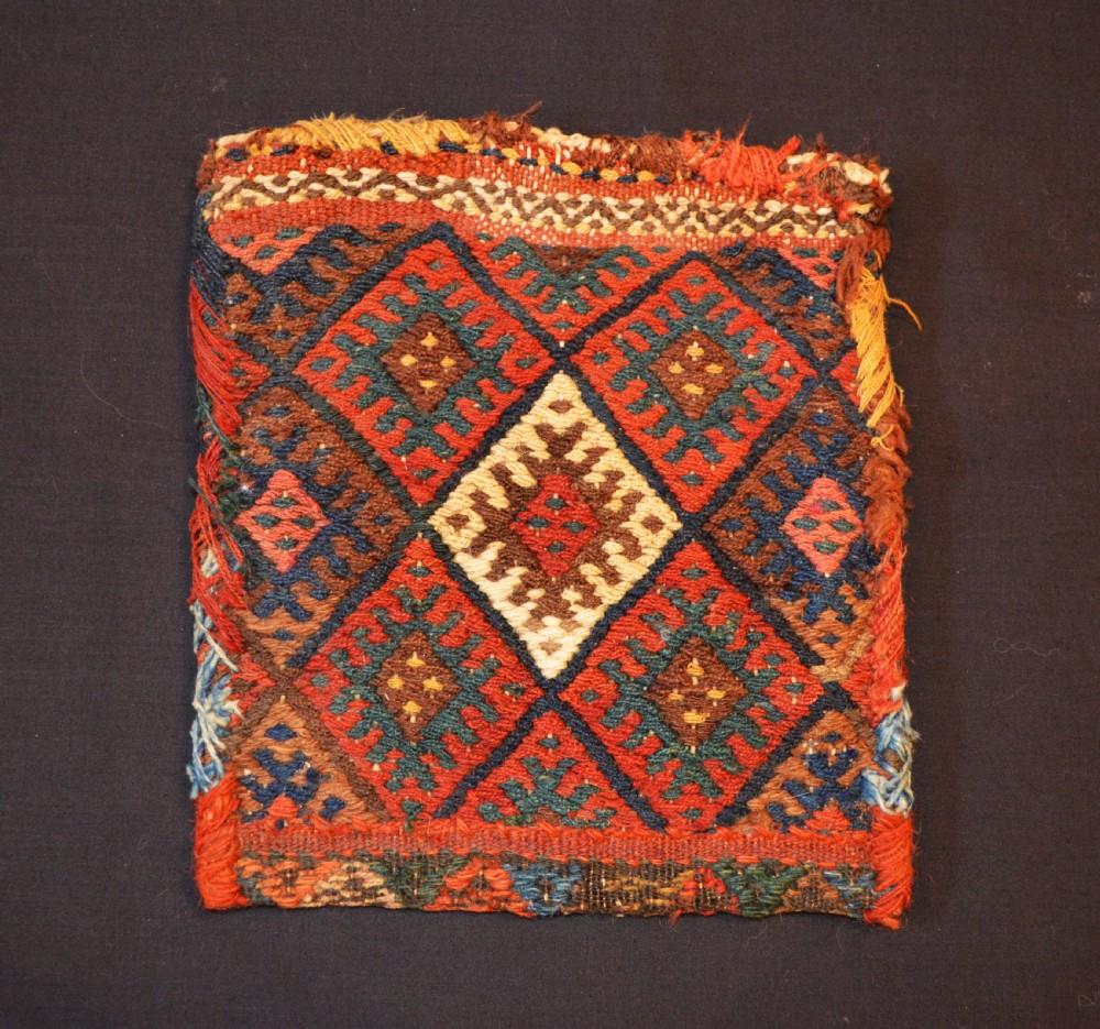 antique kurdish vanitybag chanteh sanjabi subtribe kurdistan