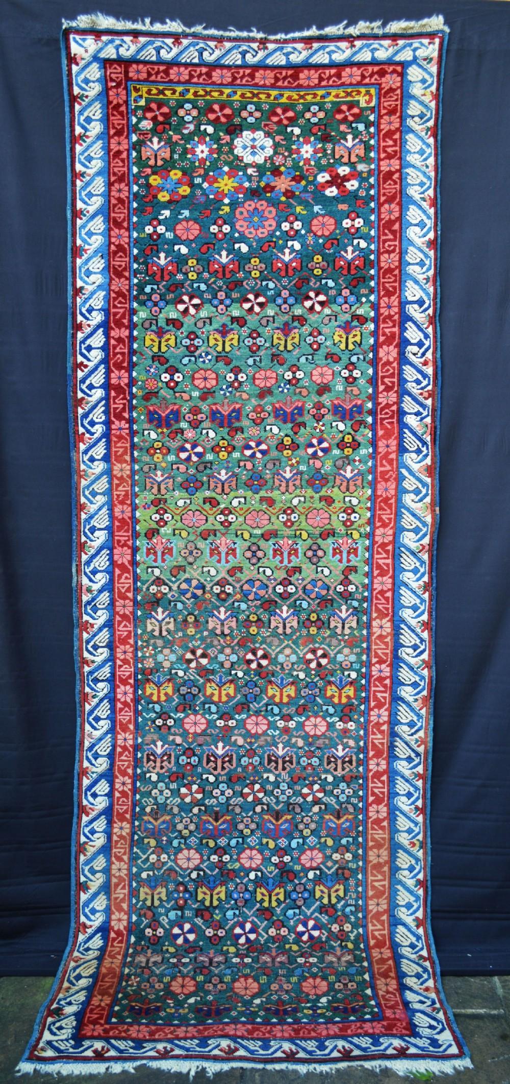 antique corridor rug seichour eastern caucasus