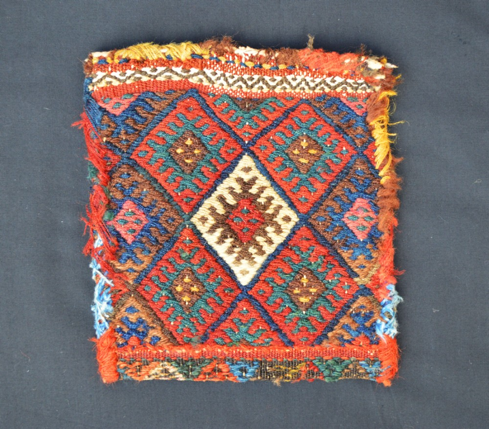 antique kurdish vanitybag chanteh sanjabi subtribe kurdistan