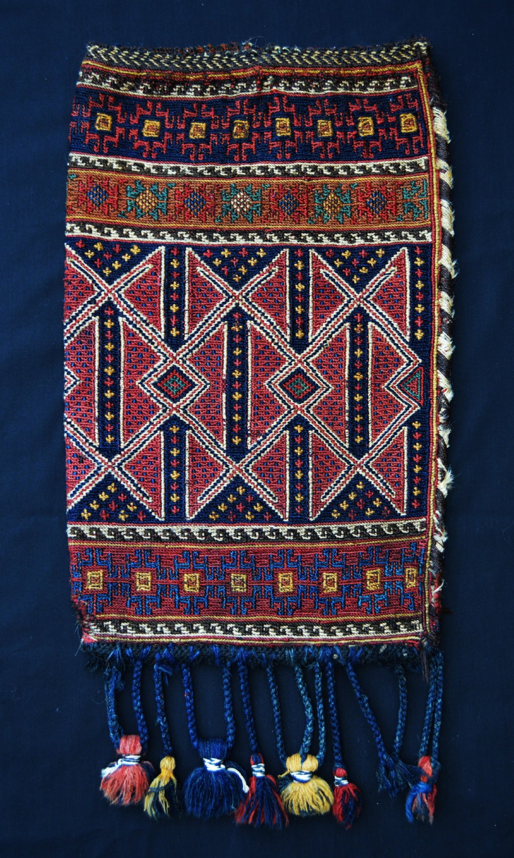 antique spindlebag afshar tribes kerman province southern persia