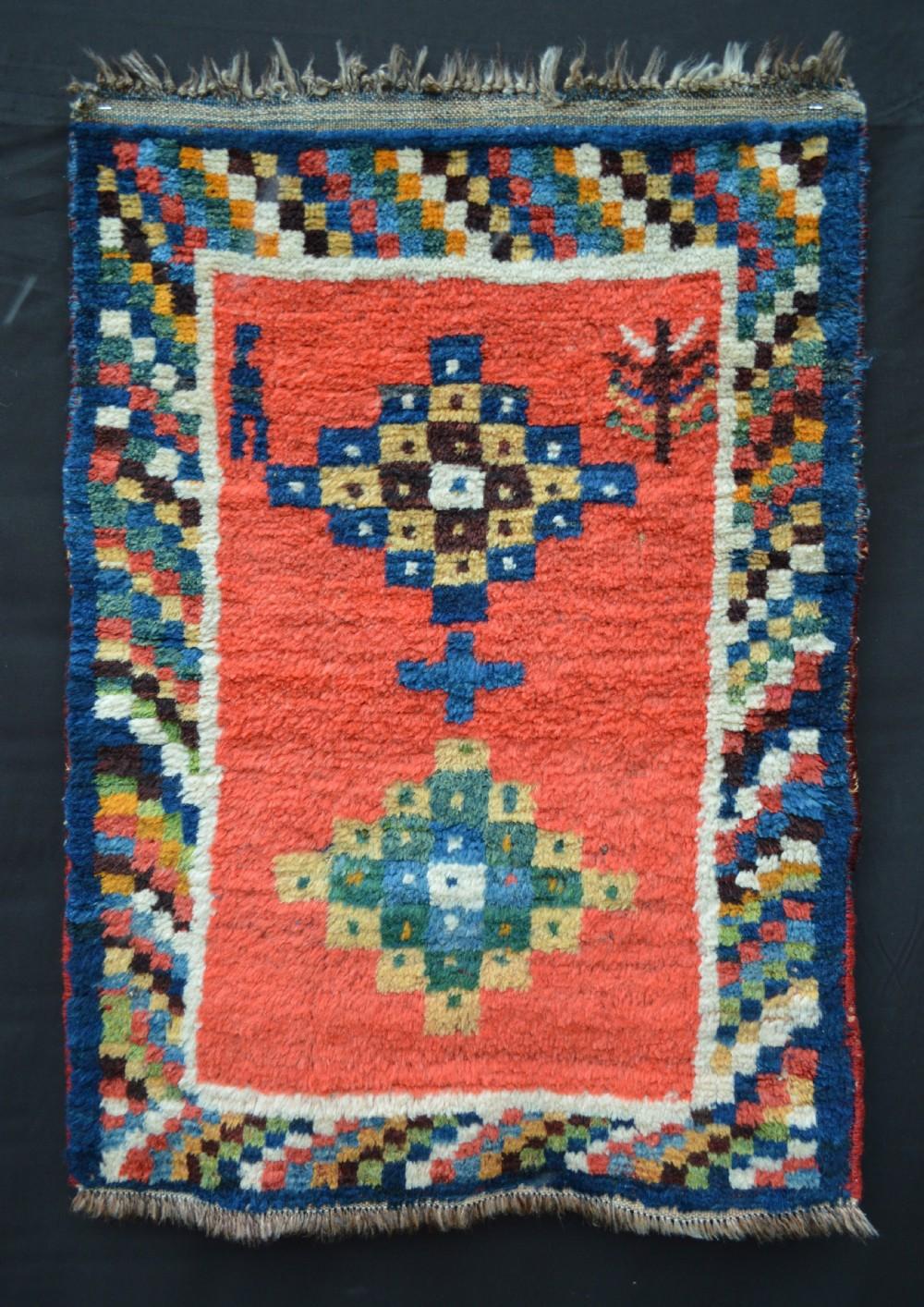 antique gabbeh luri nomads luristan western persia