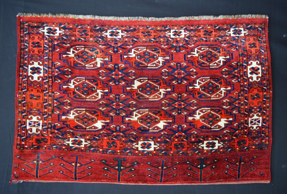 antique turkmen chuval yomut tribes transcaspian steppes turkmenistan central asia