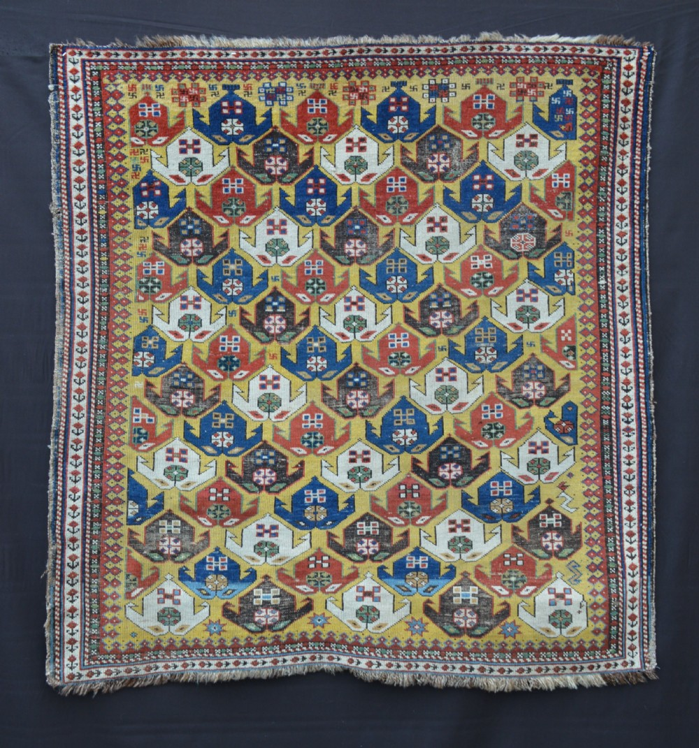 antique early caucasian rug shirvan east caucasus