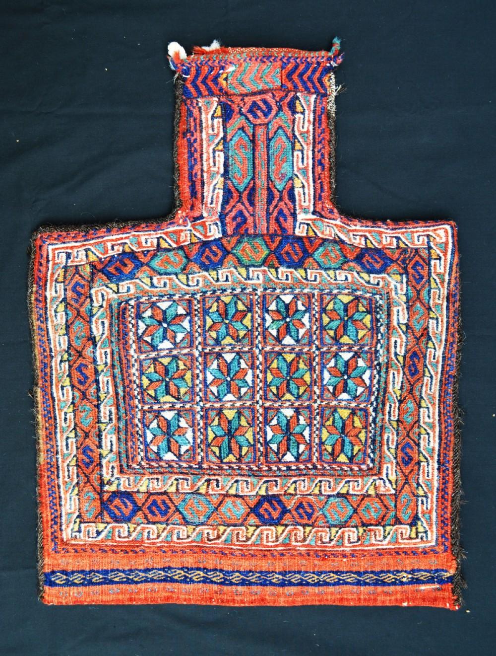 antique saltbag afshar nomads kerman province south persia