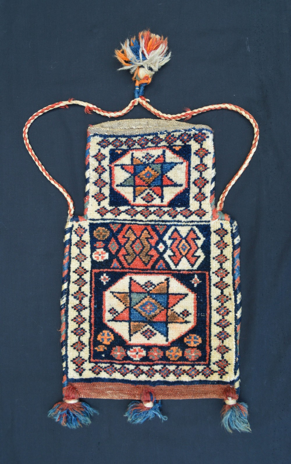 antique saltbag shahsevan nomads azerbaijan
