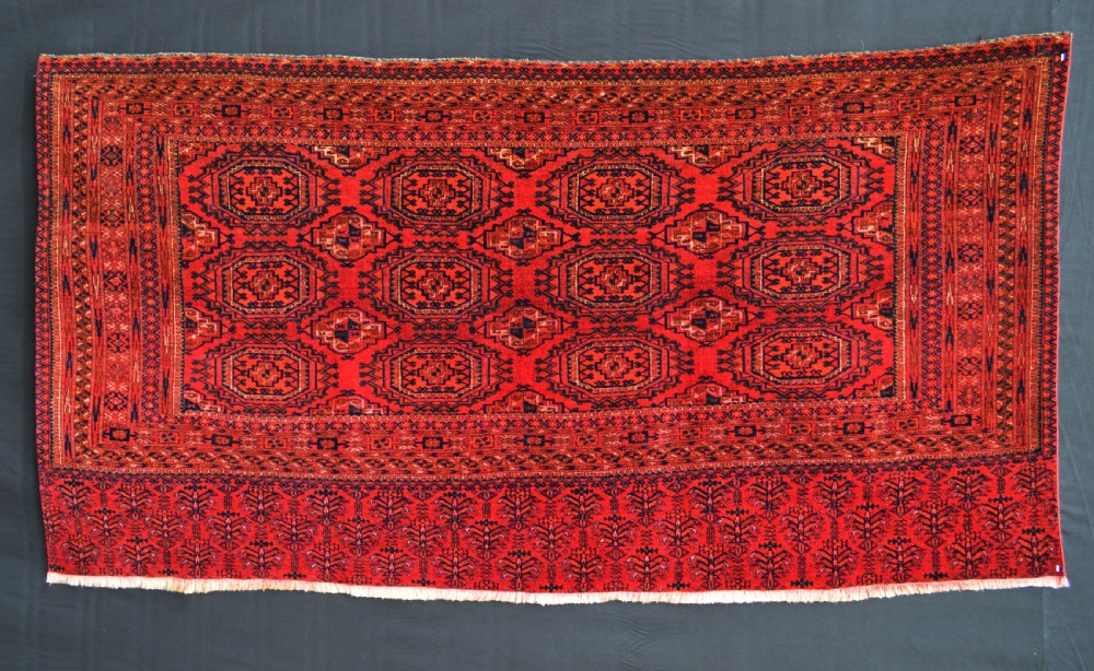 antique turkmen chuval sariq tribe turkmenistan central asia