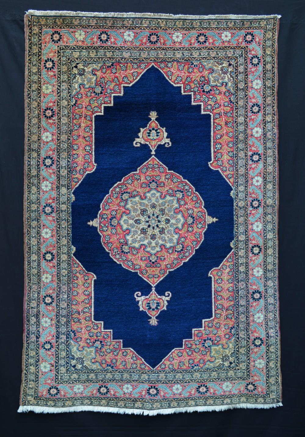 pair of antique tabriz rugs tabriz northwest persia