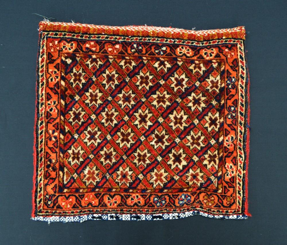 antique vanitybag chanteh qashqa'i nomads fars province southwest persia