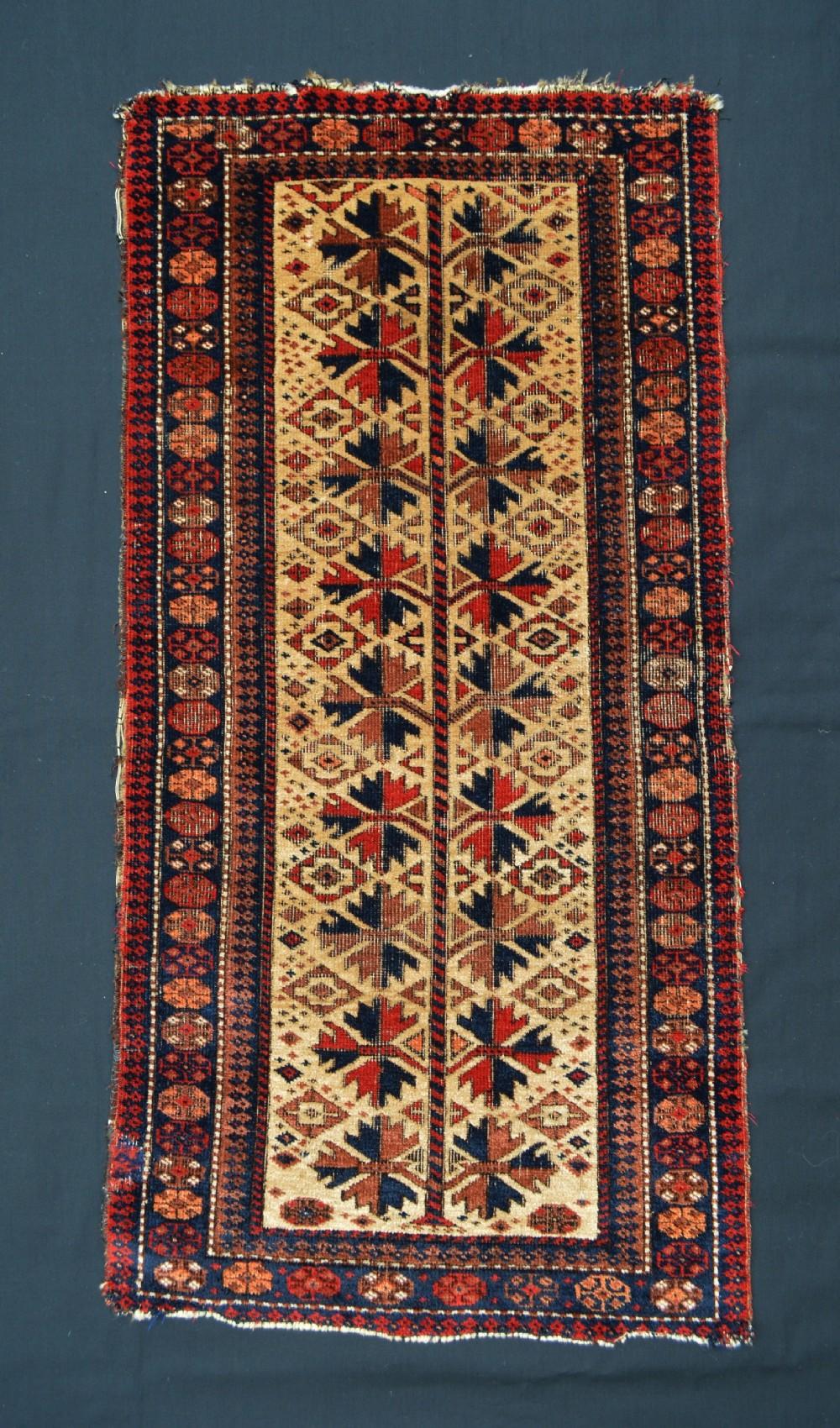 antique balisht pillow bagface timuri yaqoubkhani tribe borderlands of east persiawest afghanistan