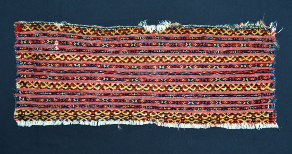 antique turkmen mixedtechnique torba teke tribes turkmenistan central asia