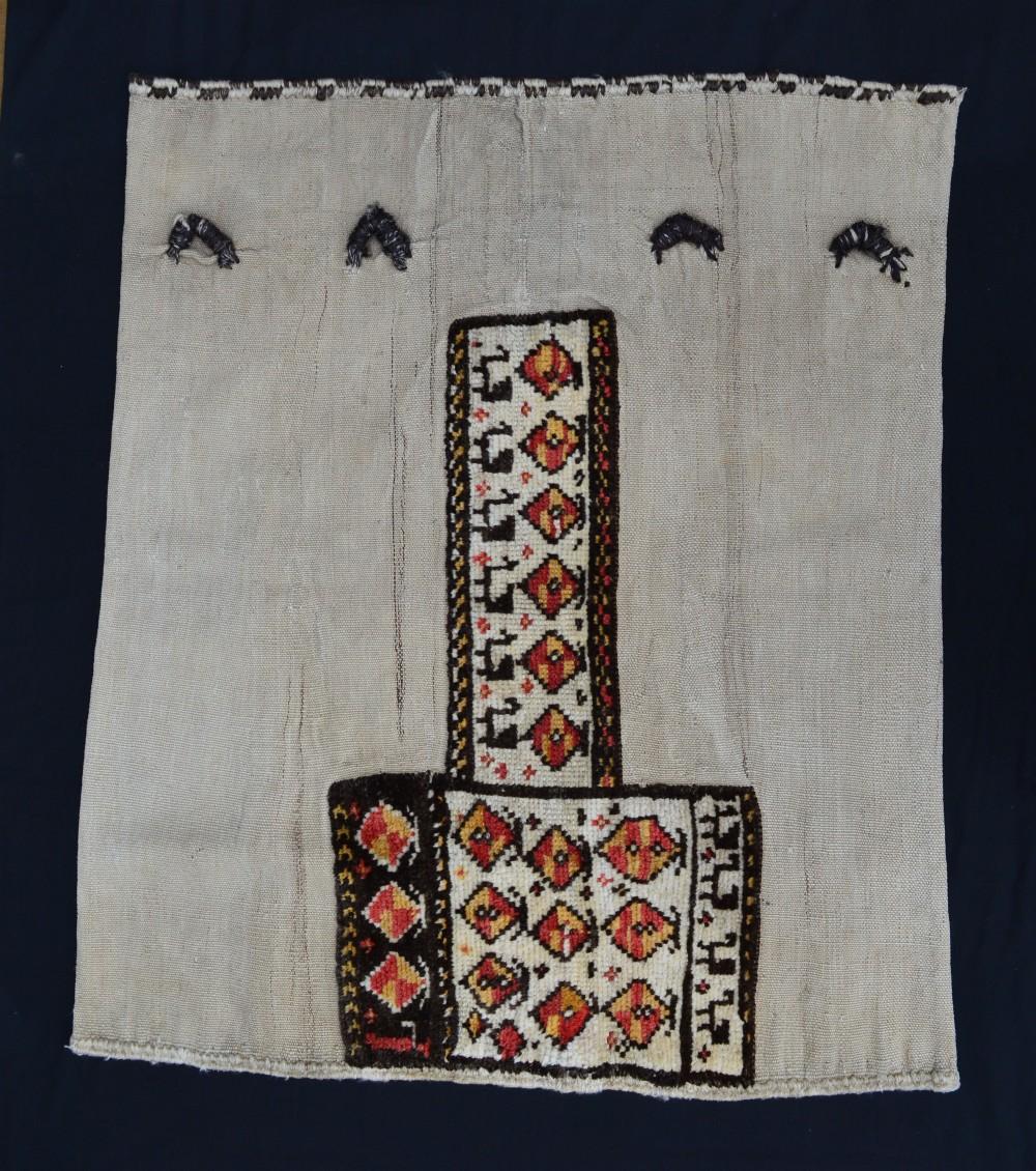 antique 'tasheh' wheat sack luribakhtiari tribes western persia