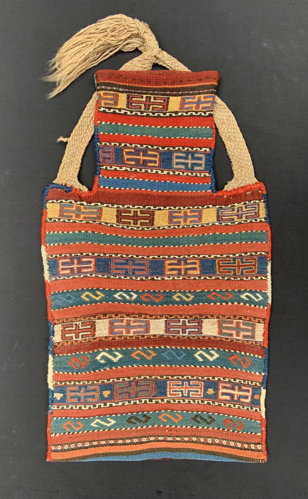 antique saltbag shahsevan nomads of hashtrud northwest persia