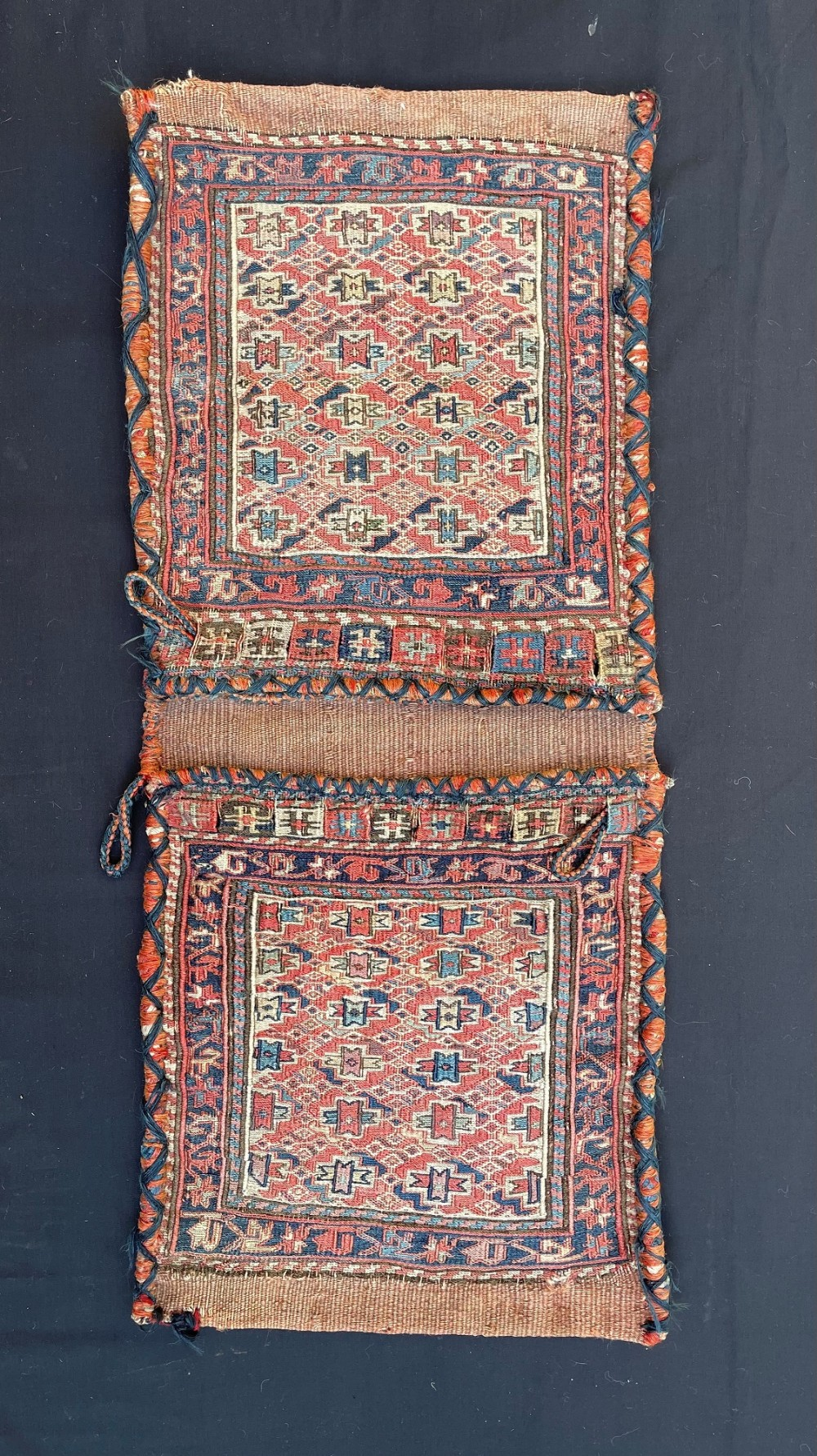 antique khorjin saddlebags shahsevan nomads of qeydar northwest persia