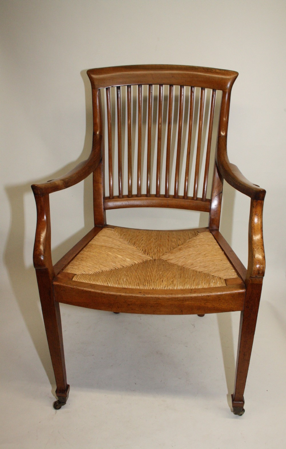 edwardian armchair in birch