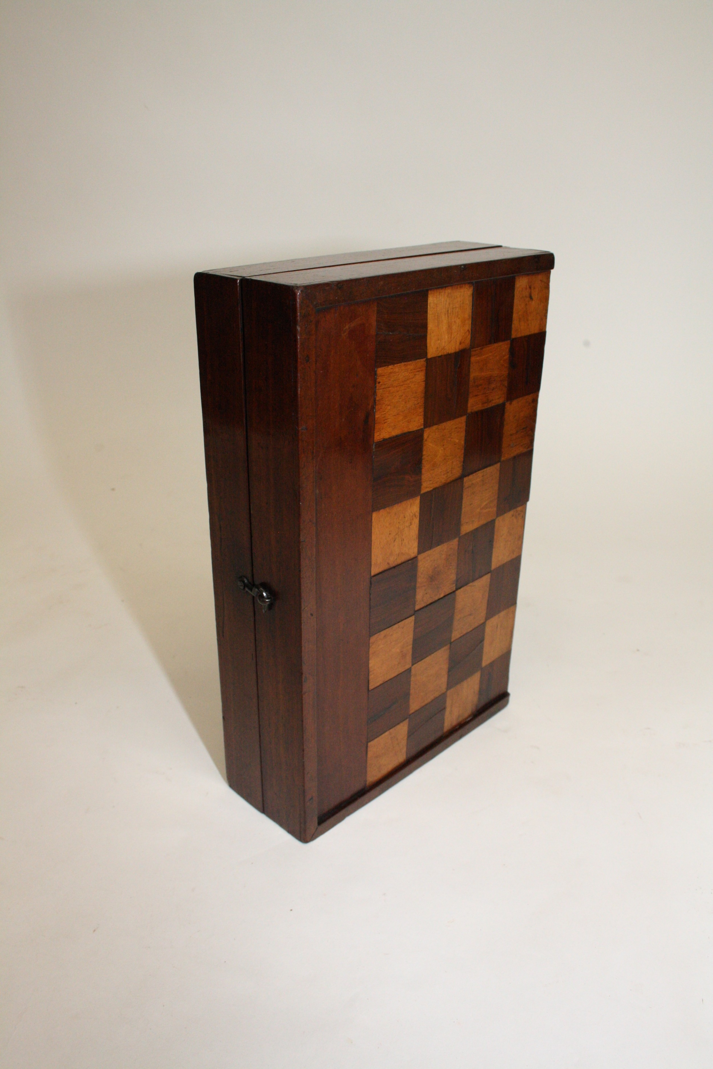 19th century chess and backgammon board