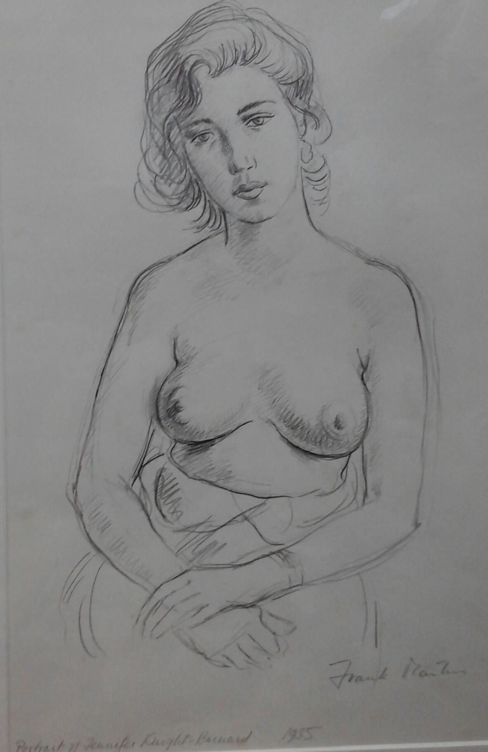 frank martin pencil sketch nude jennifer knightbarnard1955
