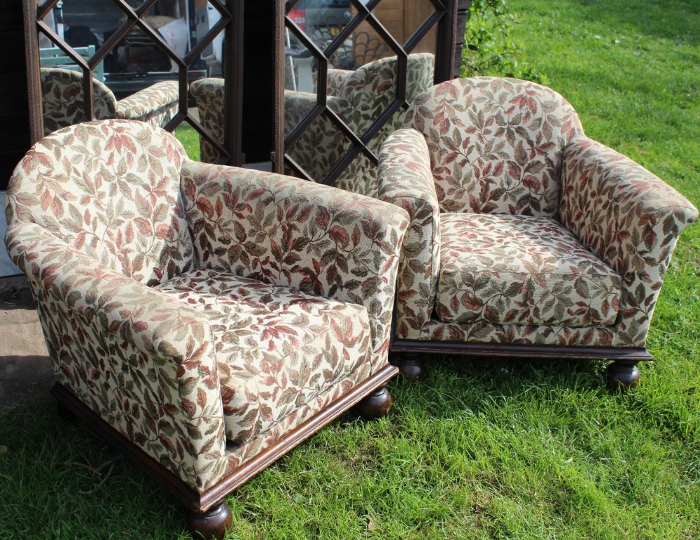 Pair Of Childrens Armchairs | 502832 | Sellingantiques.co.uk