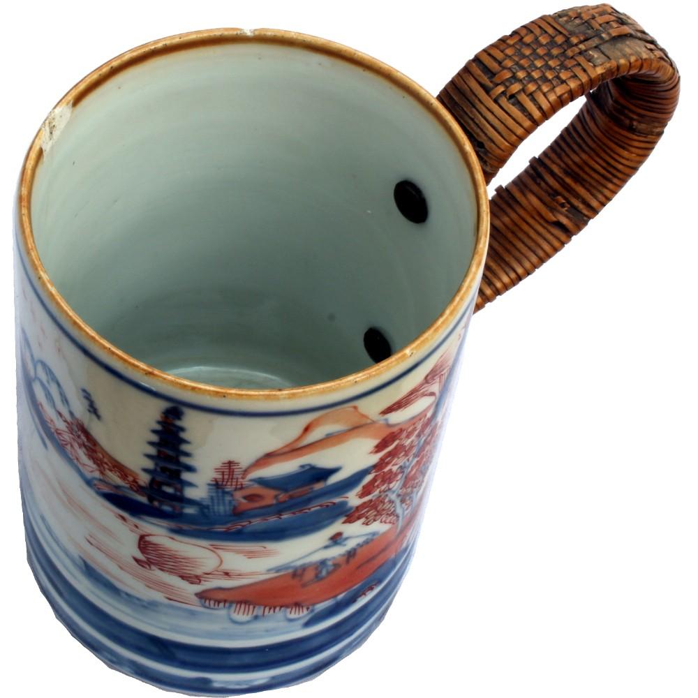 18th century chinese imari mug