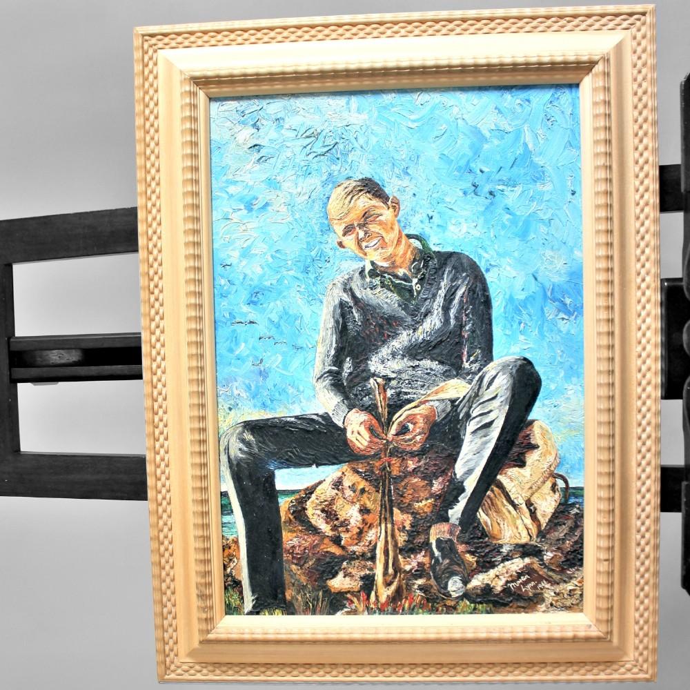 martin lynn oil painting