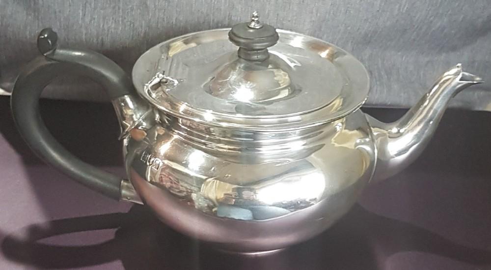 sterling silver batchelor tea pot