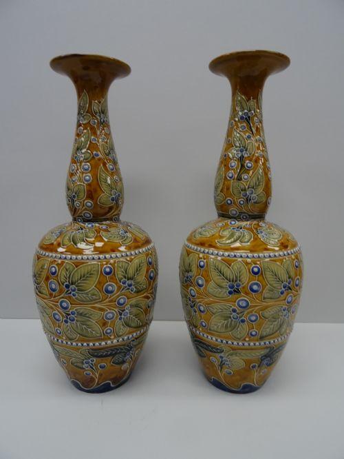 Antique Doulton Vases The Uks Largest Antiques Website
