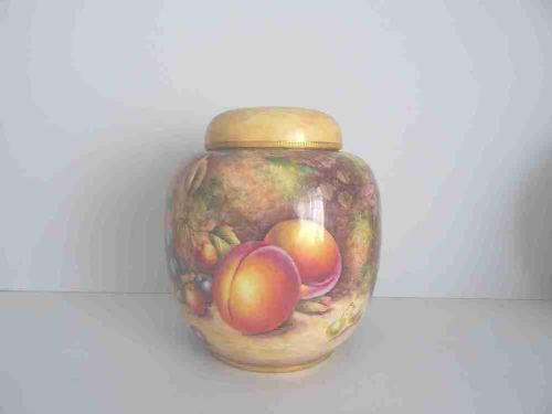 royal worcester ginger jar