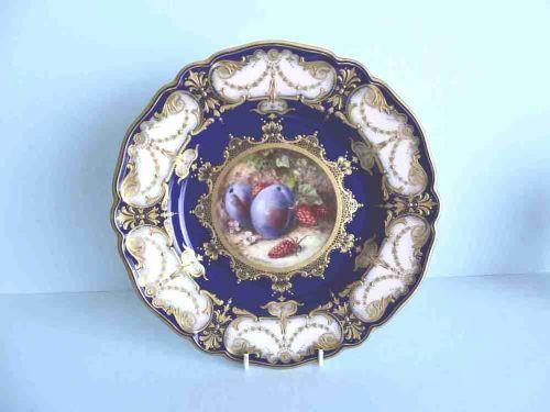 royal worcester fruit plate