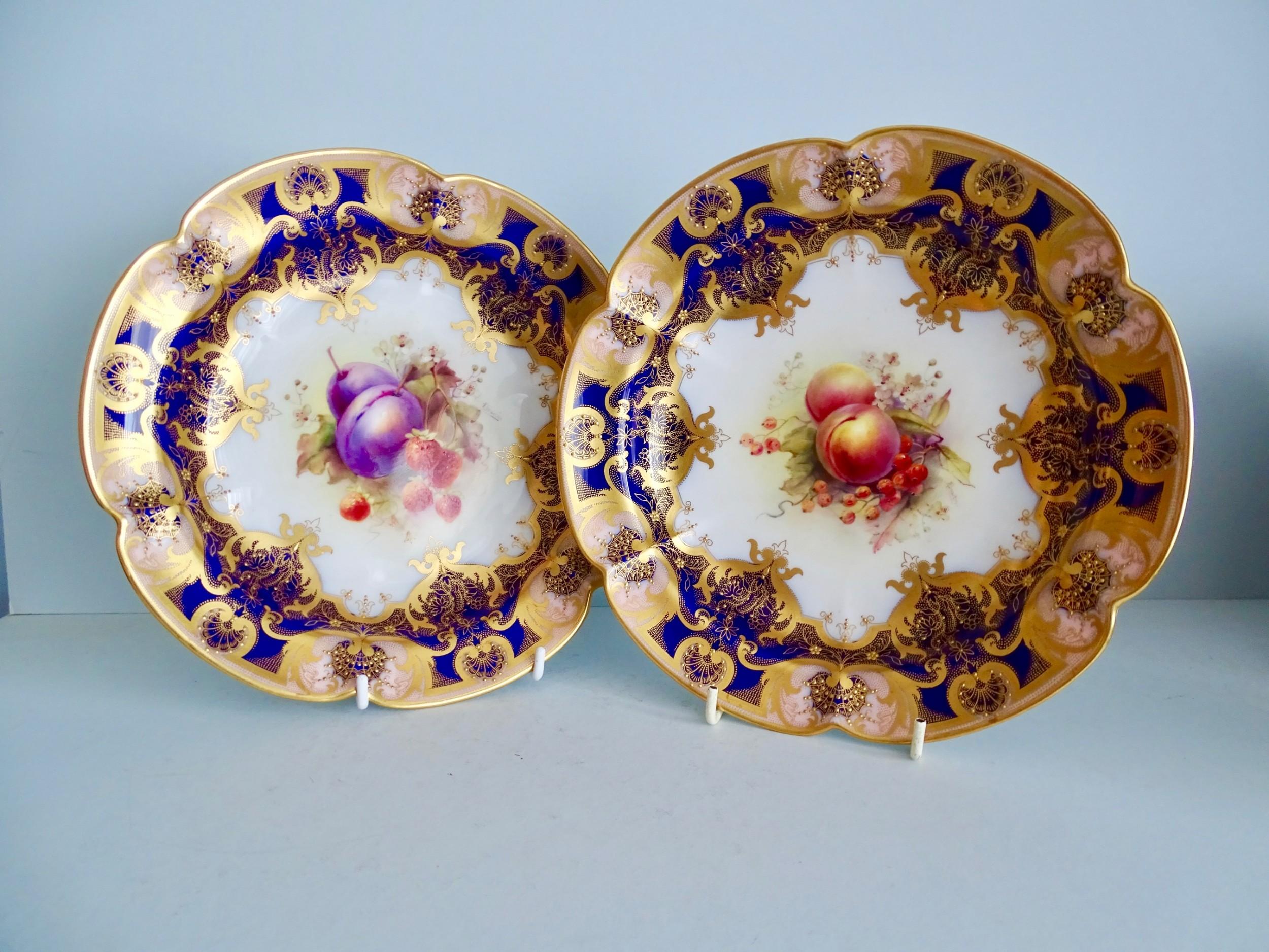 royal worcester fruit serving bowls
