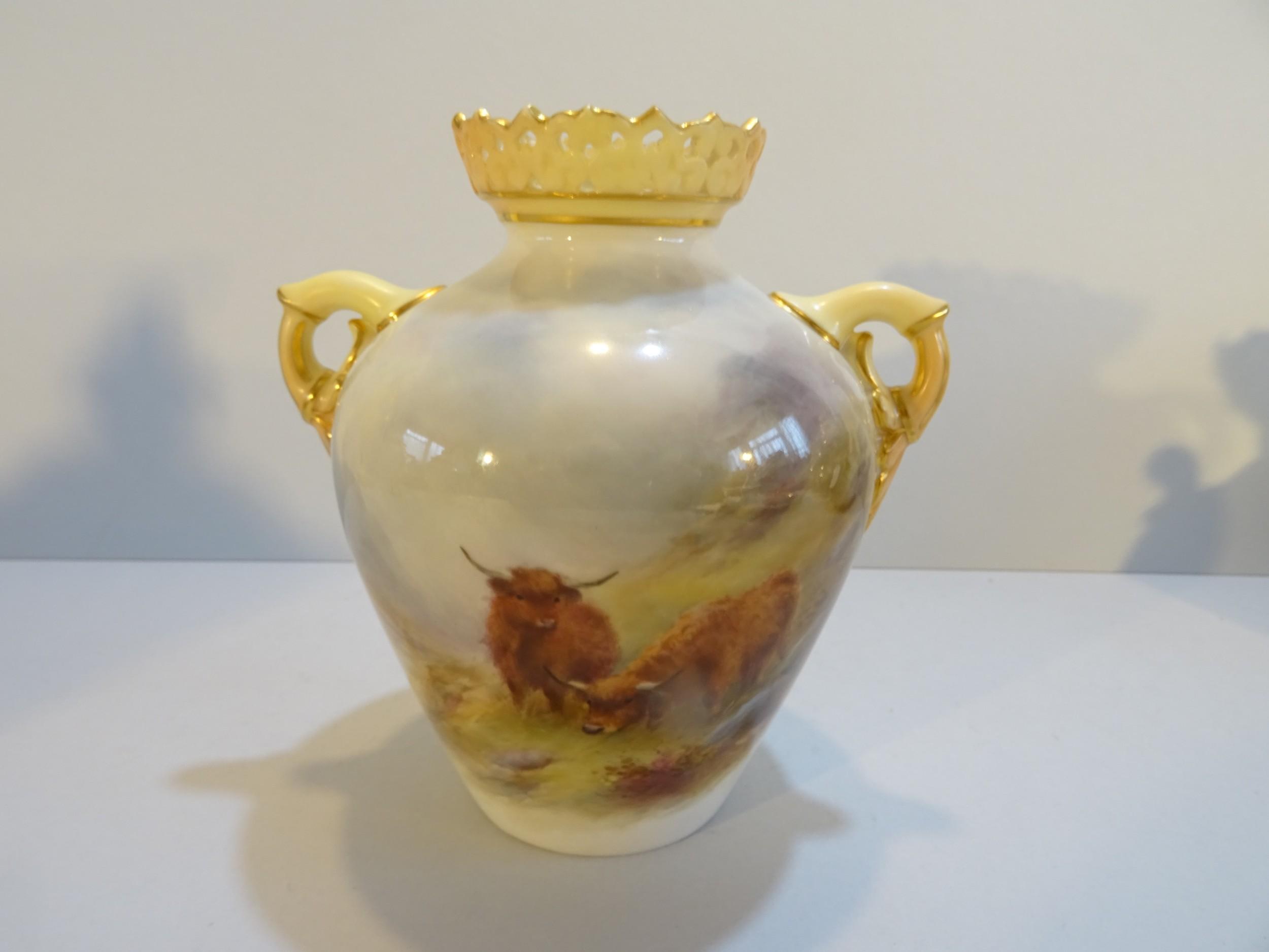 royal worcester stinton vase