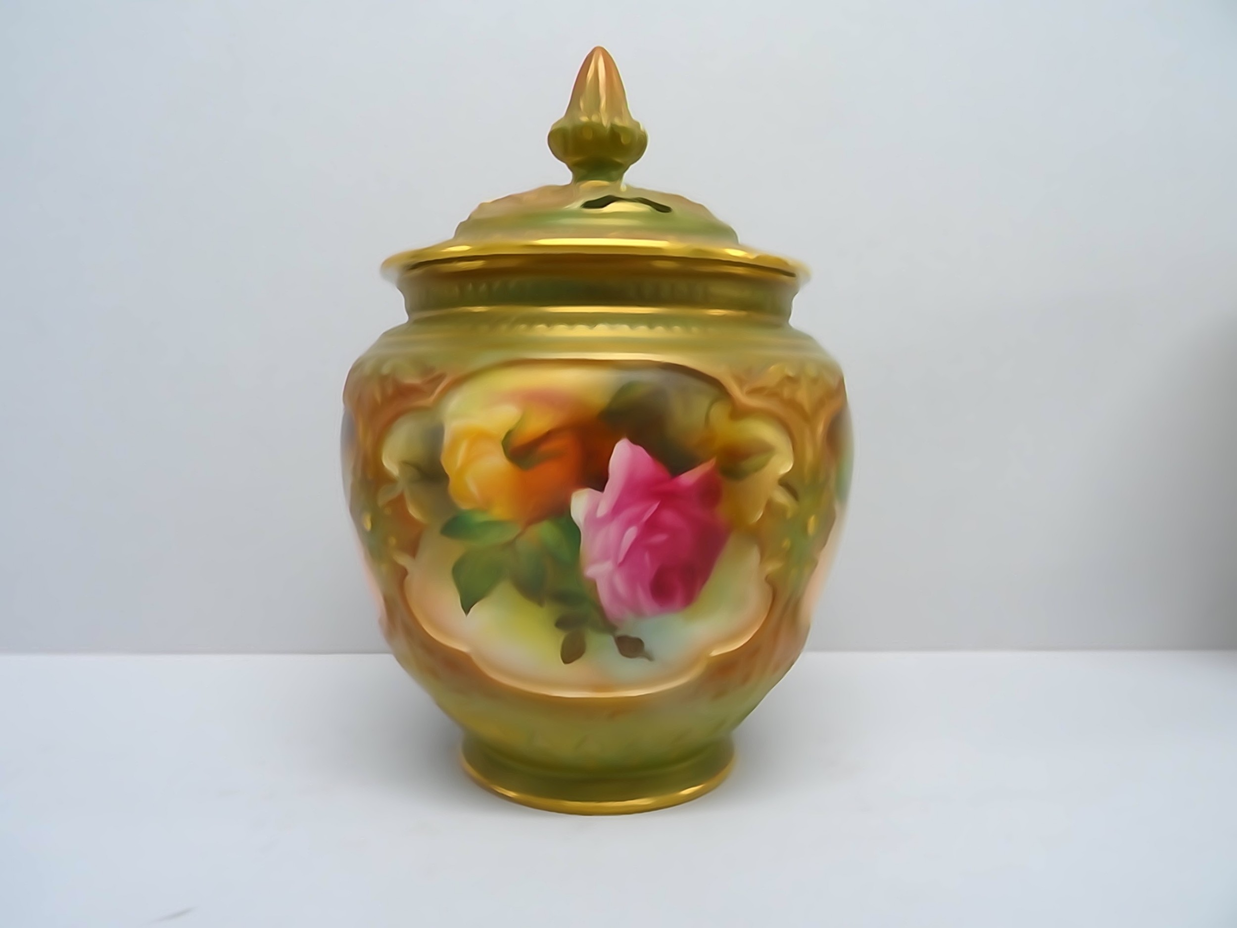 royal worcester rose pot pourri