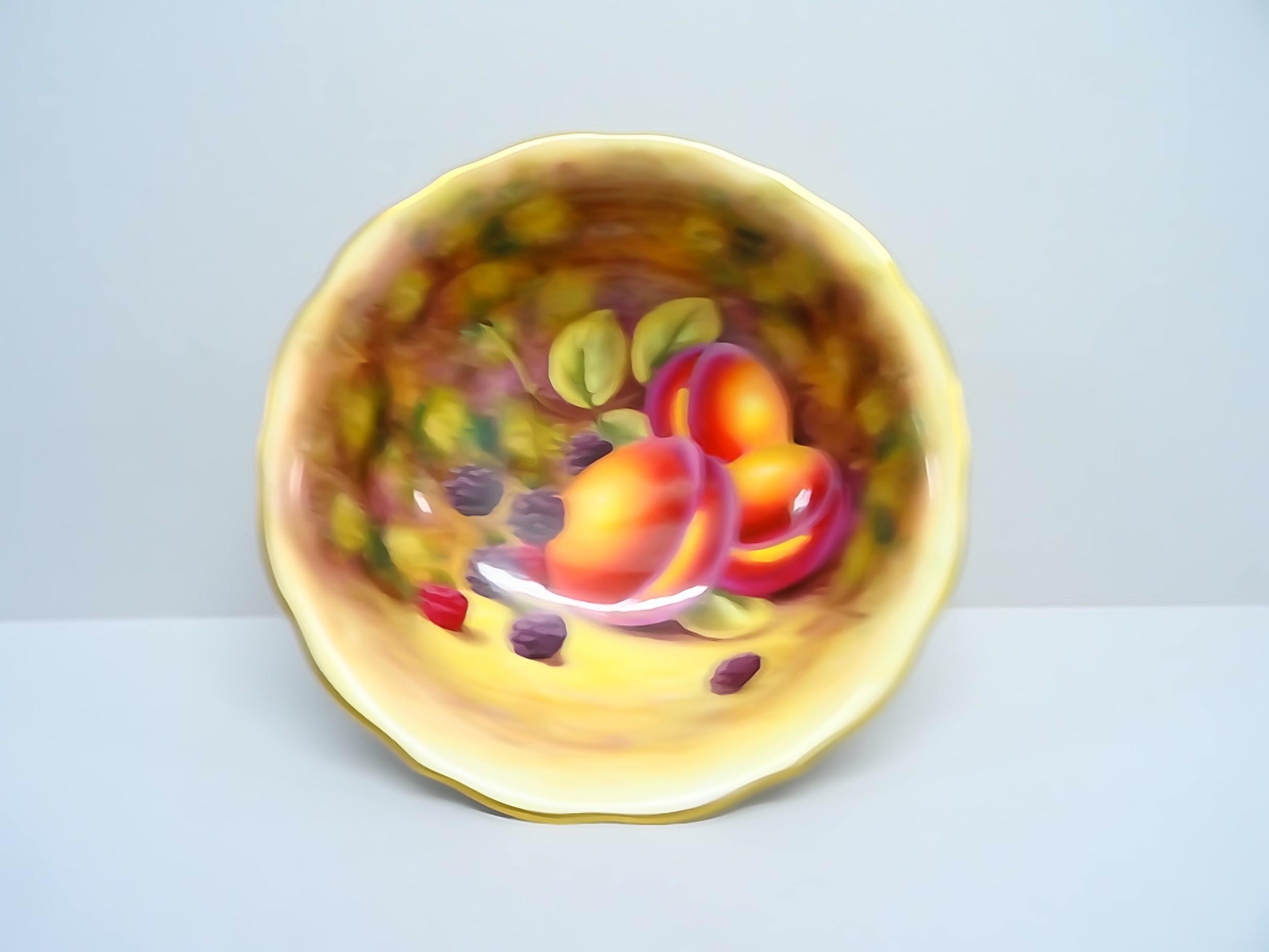 royal worcester bennett bowl