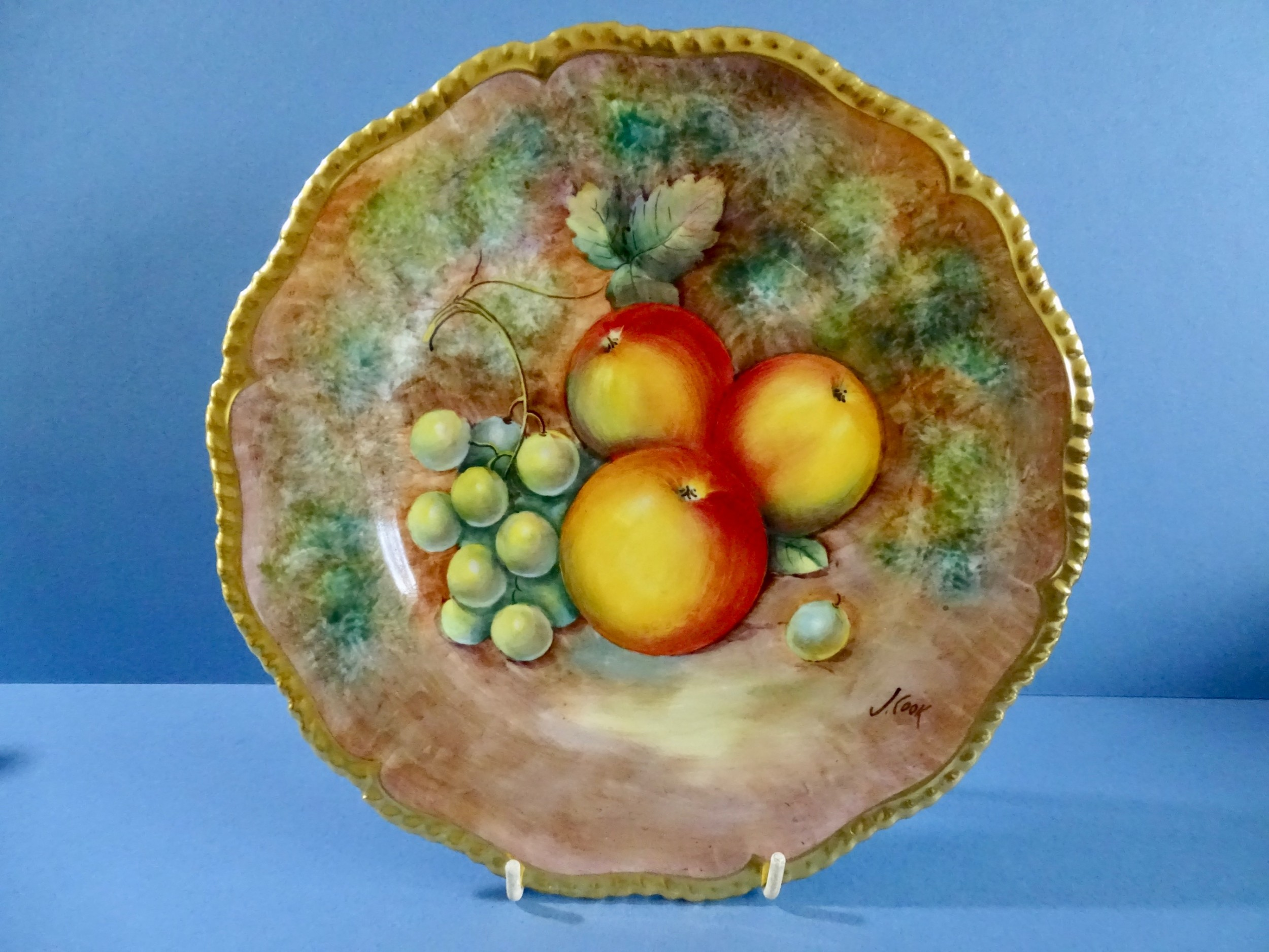 royal worcester cook 9in plate