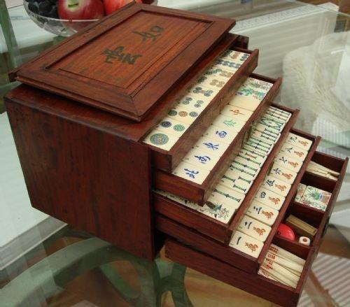 Mahjong sale for vintage sets Vintage M.S.